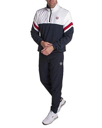 0dac21b4434 Sergio Tacchini - Ensemble survêtement Homme ISHU Sport avec Haut  enfilable  Amazon.fr  Vêtements et accessoires