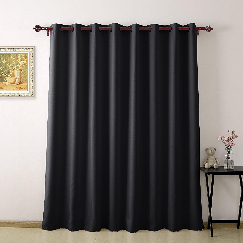 Amazoncom Deconovo Grommet Wide Blackout Curtains Wide Thermal