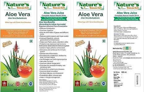 Buy NATURES SWACHH ALOEVERA HONEY JUICE 500ML Online at Low