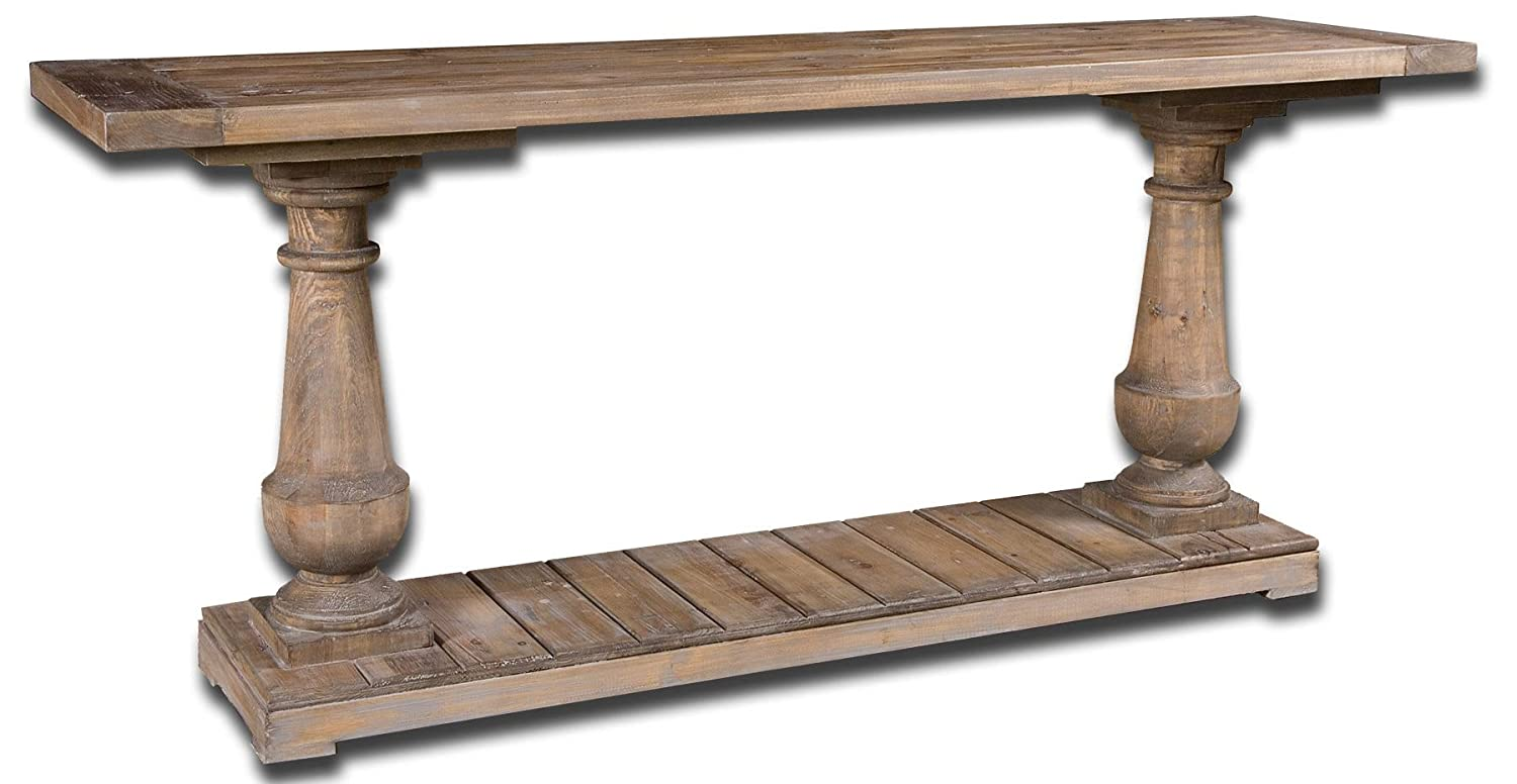 Amazon rustic wood console kitchen dining geotapseo Choice Image