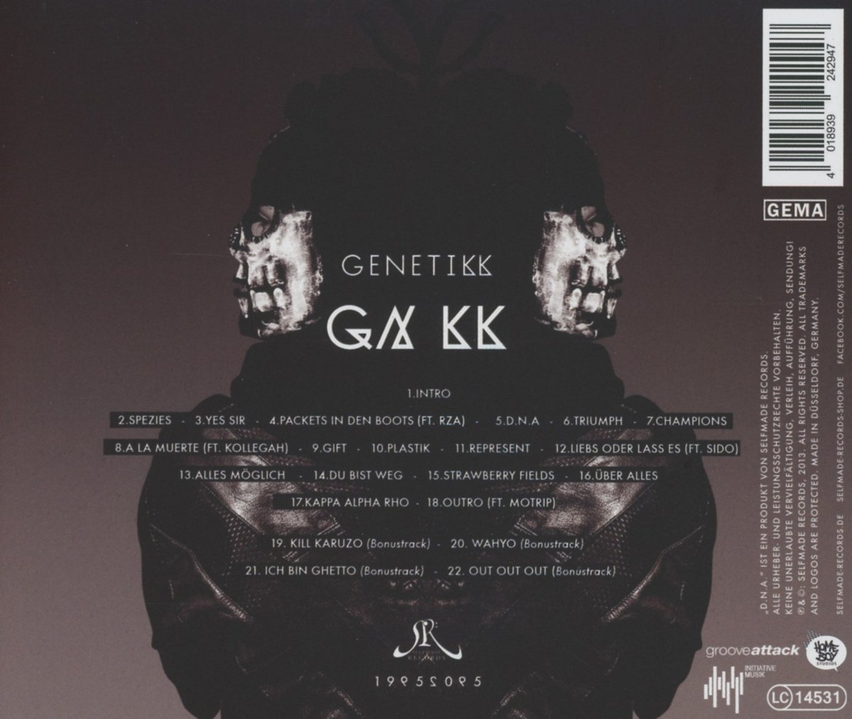 genetikk dna album
