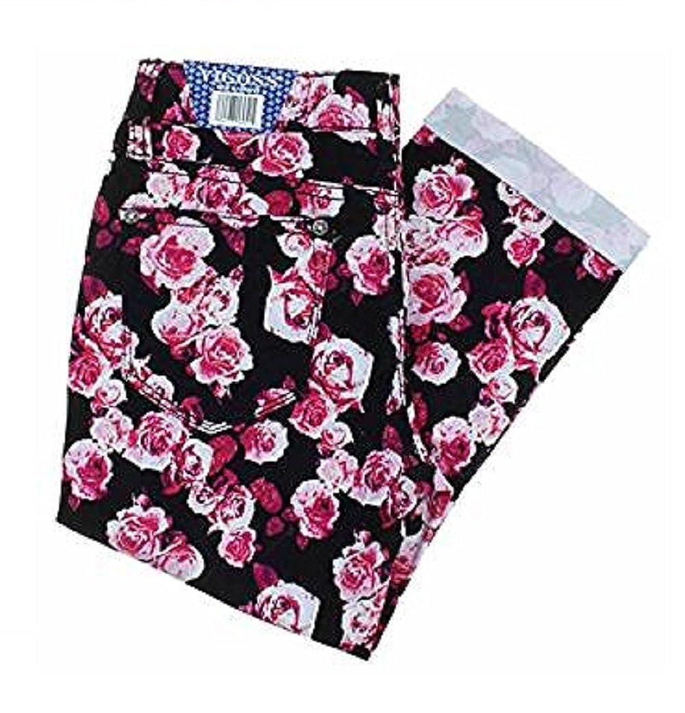 Vigoss Girls Crop Pant 10 Floral