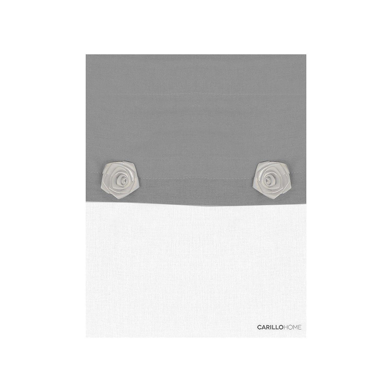 Coppia Tendine Funny - 60x150, Grigio riviera home collection