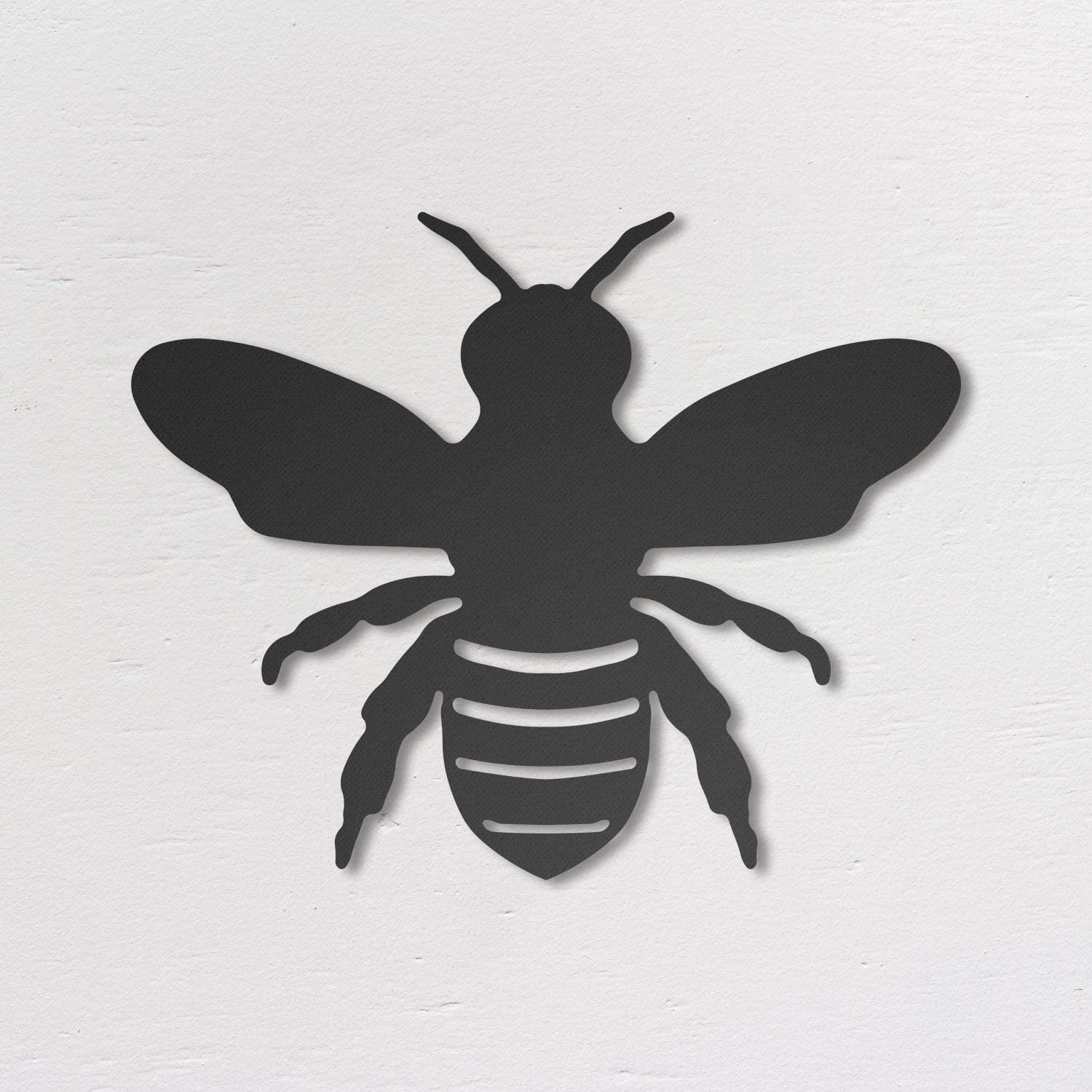 Northshire Metal Wall Decor, Bee Metal Wall art, Black Wall Decor Bathroom Decor, Bedroom Decor and Kitchen Wall Decor, Wall Decorations for Living Room