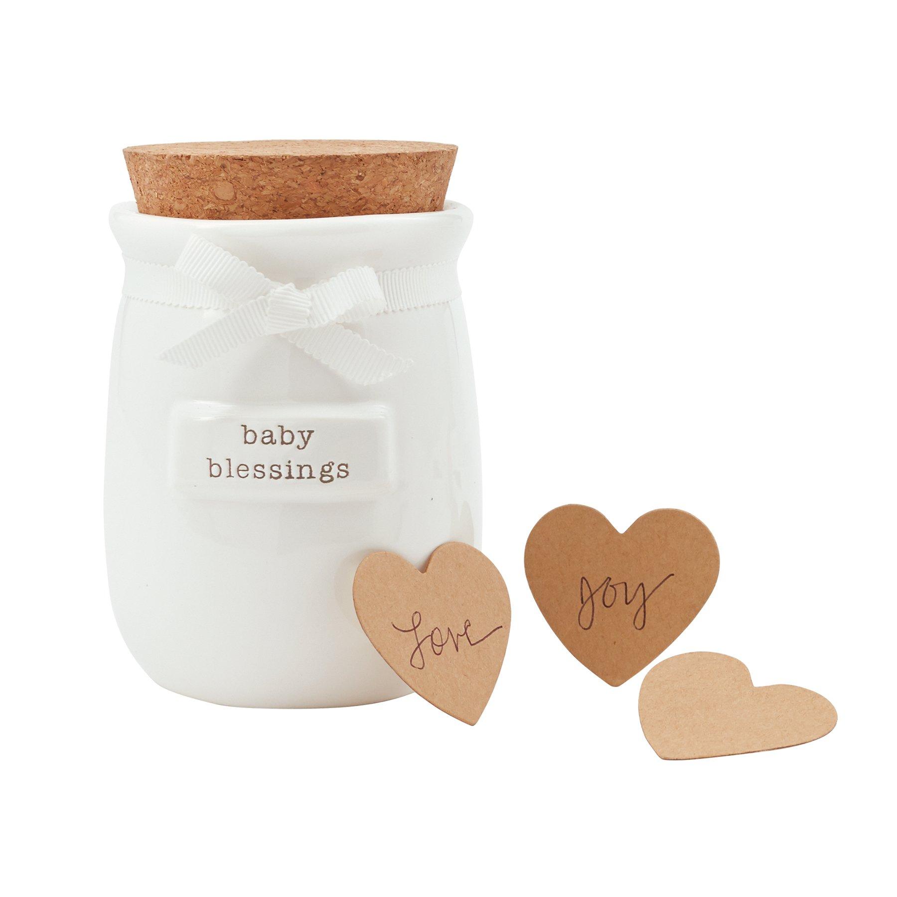 Mud Pie Baby Blessings Jar