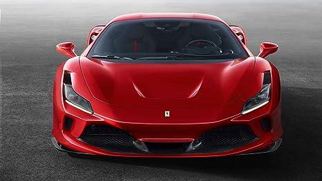 Amazon.com Ferrari F8 Tributo 2019 Car Poster Print 2