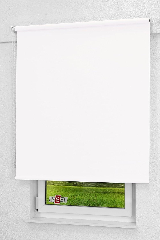 LYSEL Outlet - Qualitätsrollo abdunkelnd weiß, (B x H) H) H) 173cm x 190cm in weiß B07PVJX5JL Seitenzug- & Springrollos 1e7bd5