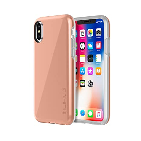 size 40 08292 17d0b Incipio Haven LUX iPhone X Case Padded Interior IML Finish iPhone X - Rose  Gold