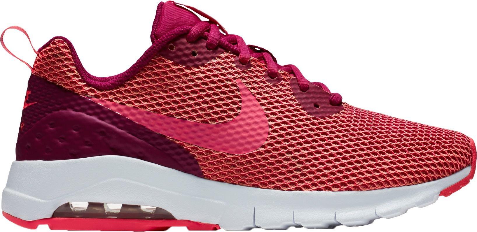 Nike Women's Air Max Motion Low SE Shoes(Sport Fushsia/Racer Pink, 9.5 B(M) US)