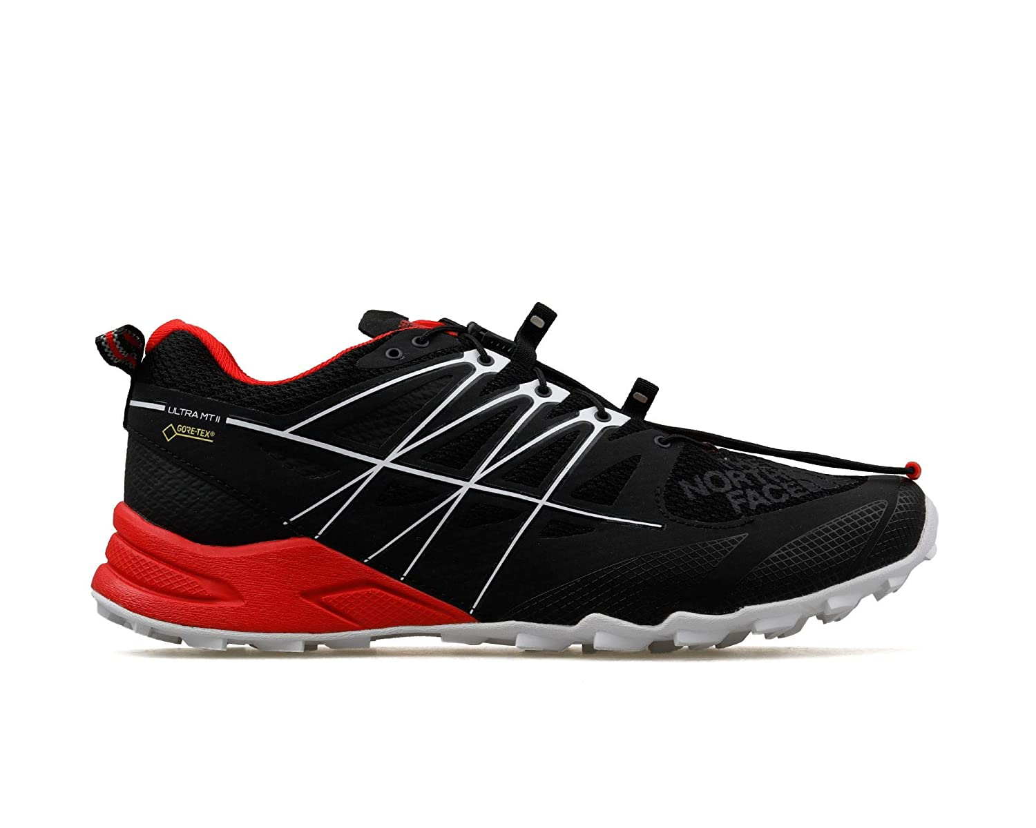 The North Ii Face M Ultra Mt Ii North Gtx Tnf schwarz Fiery ROT 9H US d64395