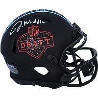 $149 » Jaylen Waddle Miami Dolphins Autographed Riddell 2021 NFL Draft Logo Speed Mini Helmet - Autographed College Mini Helmets