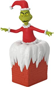 Hallmark Keepsake Ornament 2020, Dr. Seuss's How the Grinch Stole Christmas! You're a Mean One, Mr. Grinch, Musical