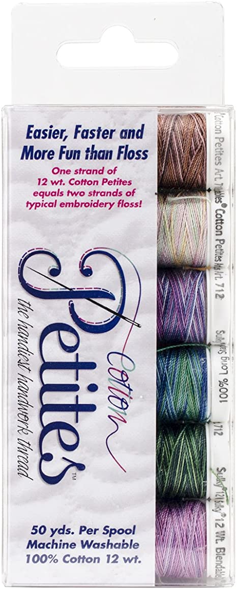Rosewood Manor Assortment Sulky Sampler 12wt Cotton Petites 6-Pack