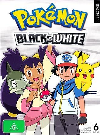 amazon com pokemon season 14 black and white 6 discs anime