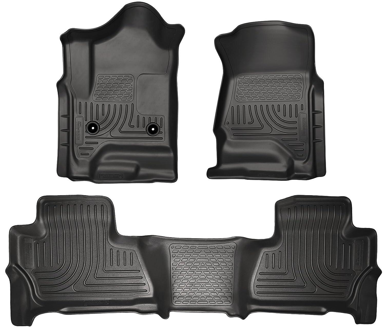 Phenomenal 2015 Chevrolet Suburban Weatherbeater Floor Mats Liners Husky Black Front Rear Dailytribune Chair Design For Home Dailytribuneorg