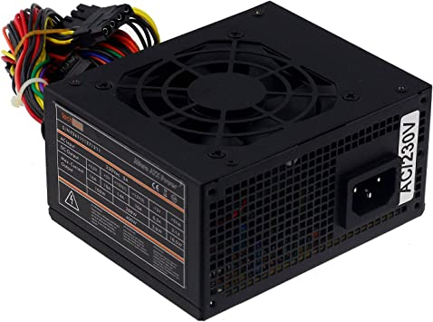MS-Tech Micro ATX Power - Ventilador (400 W), Color Negro ...