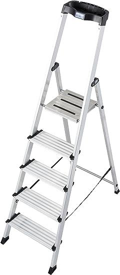 Krause – Escalera sepuro, 1 pieza, 5 niveles, 127235: Amazon.es: Bricolaje y herramientas