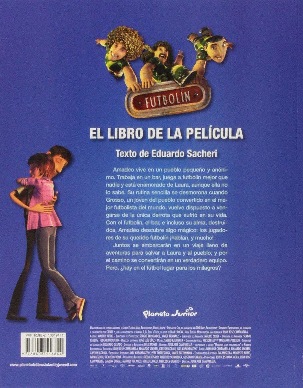 Futbolín. El libro de la película: Amazon.es: AA. VV.: Libros