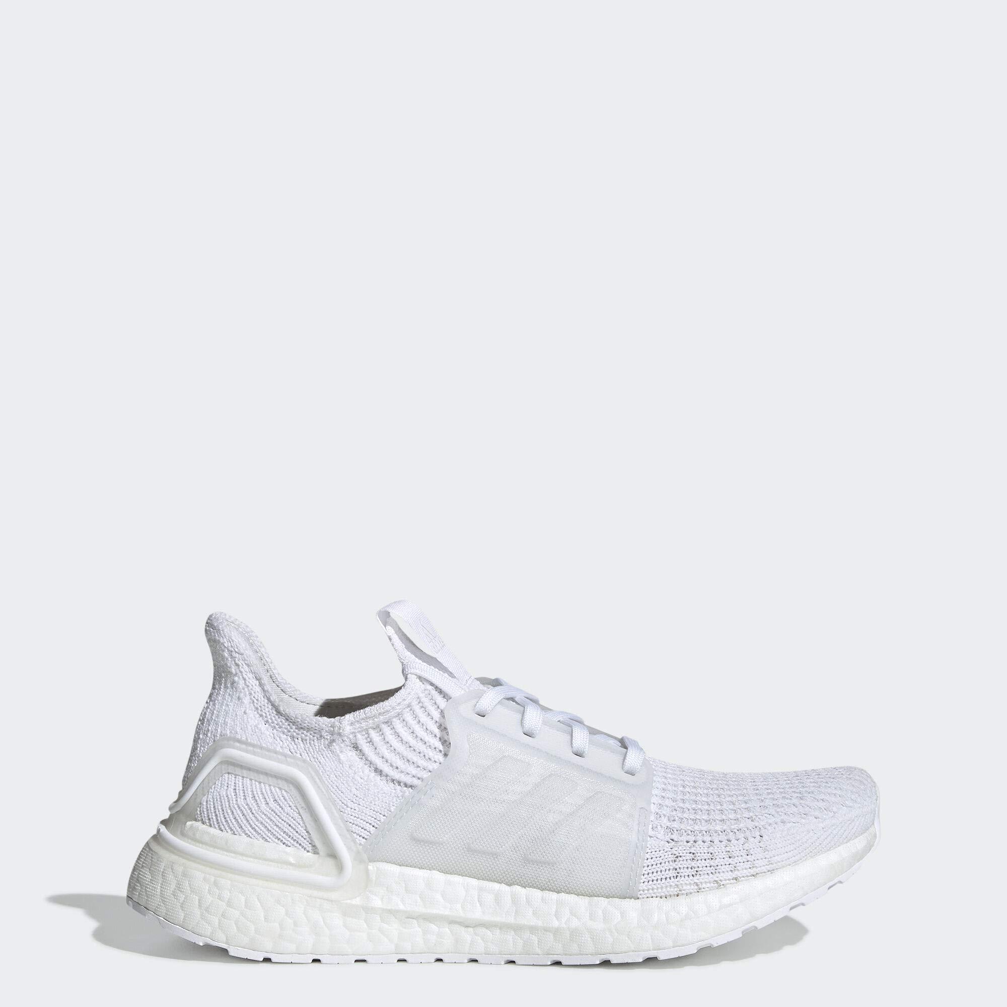 adidas Women's Ultraboost 19 Running Shoe, White/Grey/Black, 10 M US by adidas