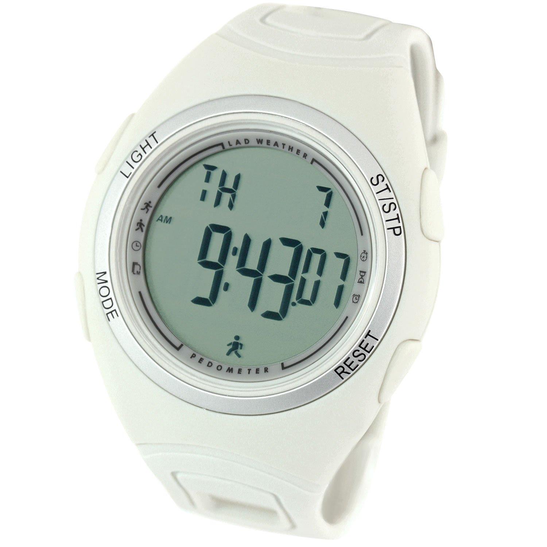 [Lad Weather] podómetro Sensor de acelerómetro 3d Alarm cronómetro ejercicio Jogging marca hombre deportivo reloj