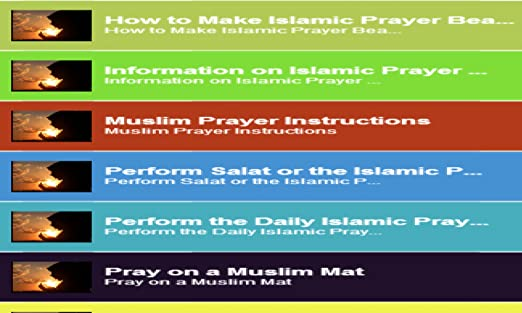 Amazon How To Pray In Islam Appstore For Android