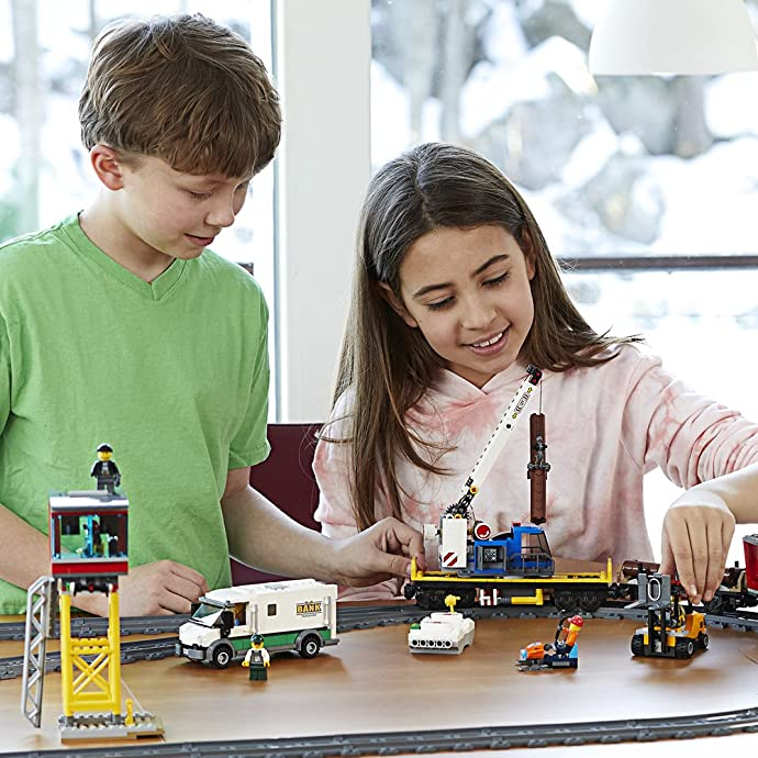 LEGO 乐高 City 城市系列 货运火车 积木玩具 60198 $199.59 海淘转运到手约¥1699