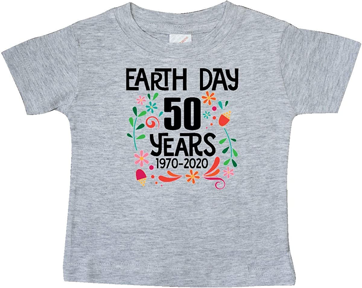 inktastic Earth Day 2020 50 Years Baby T-Shirt