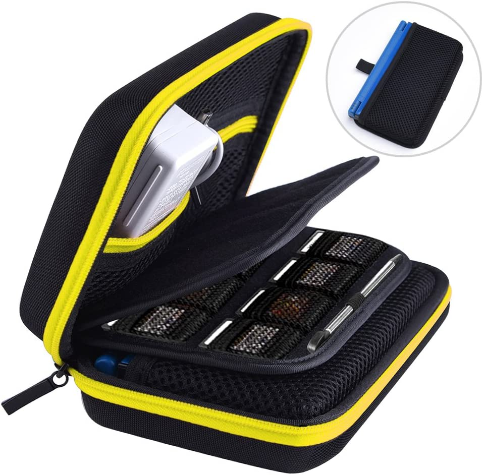 AUSTOR Hard Case for Nintendo New 3DS XL, Yellow