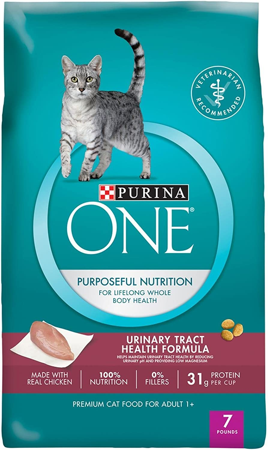 Purina ONE Purposeful Nutrition Dry Cat Food - Adult Urinary Tract Health Formula - 7 lb
