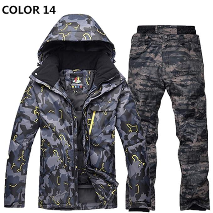 De Trajes Contra Protección Manténgase Hombre Esquí Invierno El Frío qT5zZw6W