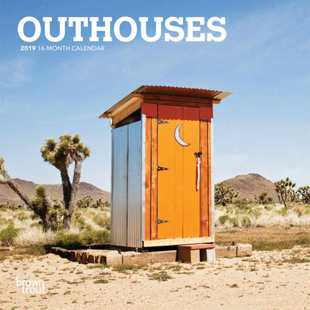 Amazon.com: Outhouses 2019 7 x 7 Inch Monthly Mini Wall Calendar, Toilette  Latrine Bog Humor (English, French and Spanish Edition) (9781465075482):  Inc. ...