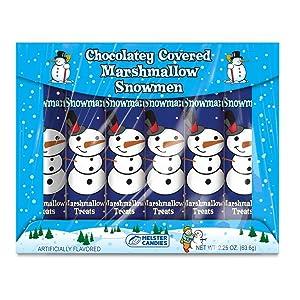 Chocolatey Covered Marshmallow Snowmen