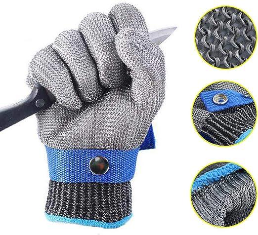 Sicherheits Schnittschutz XL HHPE Stufe 5 Stechschutzhandschuhe Kettenhandschuh!