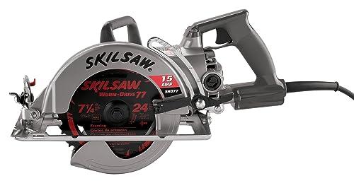 SKIL SHD77 15 Amp 7-1/4-Inch Worm Drive SKILSAW Saw