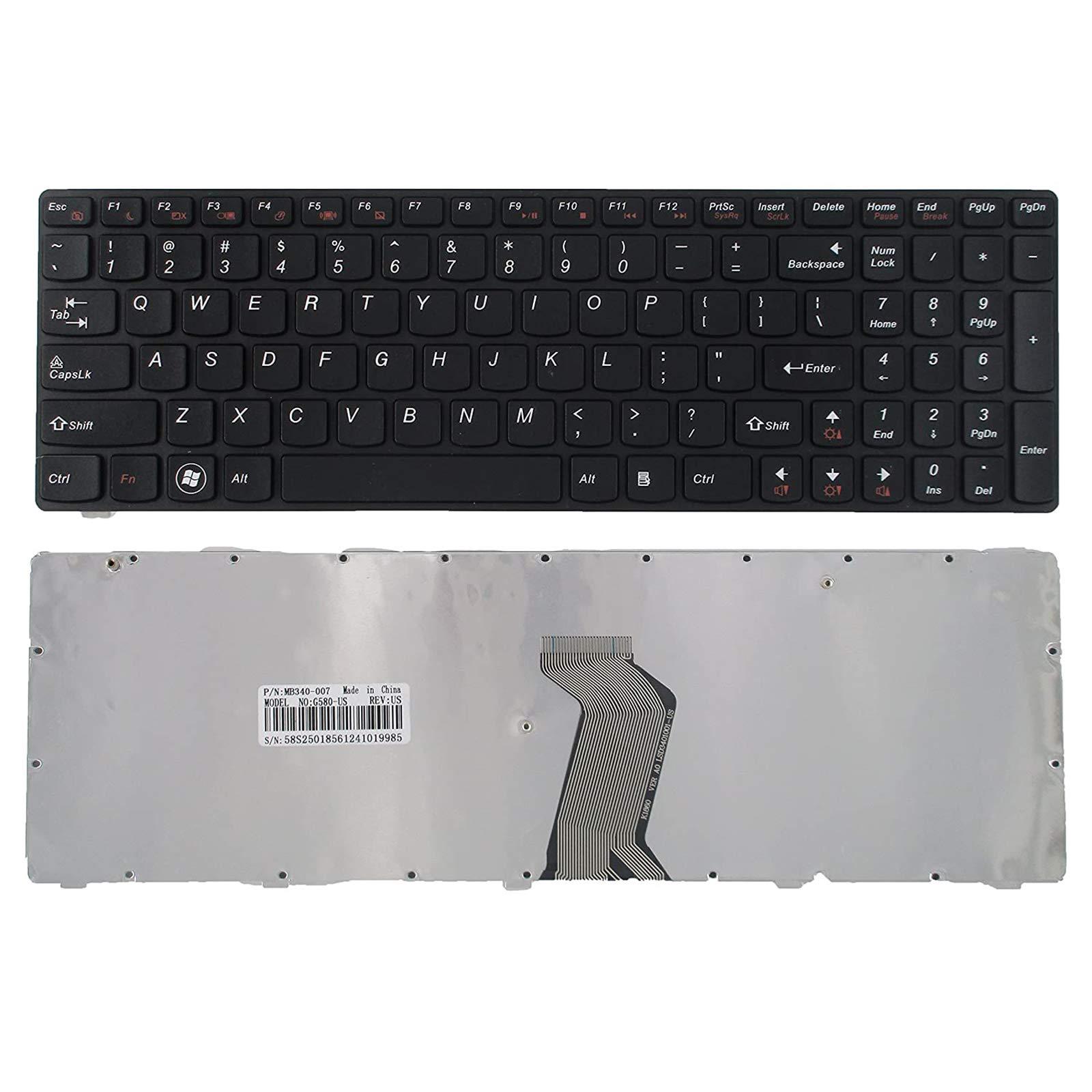 Teclado USA para Lenovo Ideapad G580 G580A G585 G585A V580 V