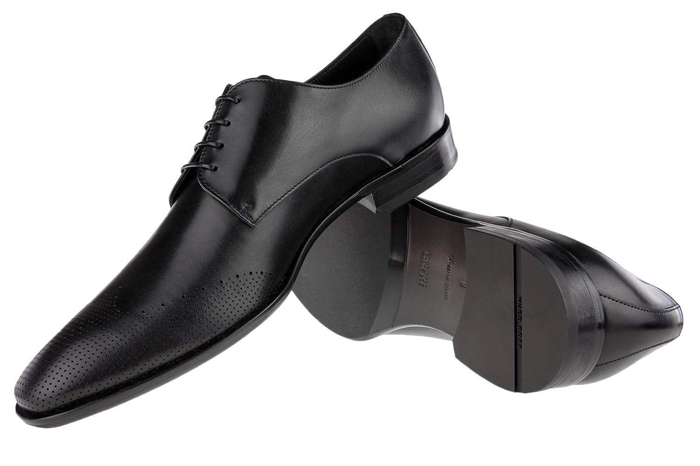 Hugo Boss Boss Schnürschuhe Chelsea_derb_wtls1 - Mocasines para Hombre, Color Negro, Talla 10.5: Amazon.es: Zapatos y complementos