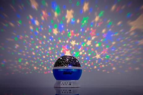 Space Party And Ceiling Stars For Kids Bedroom With Star Projector Night  Light Planetarium For Baby