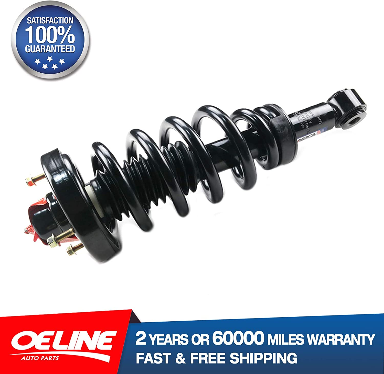 MOCA 171139 Rear Pair of 2 Complete Strut Coil Spring Assembly Left and Right Shock Absorber for 2007-2013 Ford Expedition 5.4L /& 2007-1013 Lincoln Navigator 5.4L