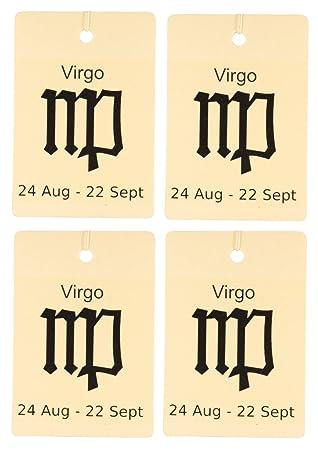 Eclectic Lady Conjunto de cuatro ambientadores zodiaco leche de avena y miel Virgo: Amazon.es: Hogar