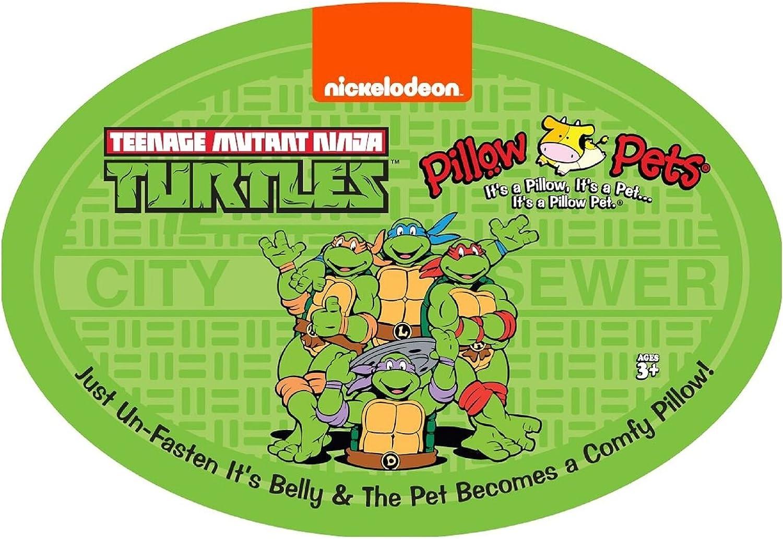 Amazon.com: Pillow Pets Raphael Nickelodeon TMNT - Almohada ...