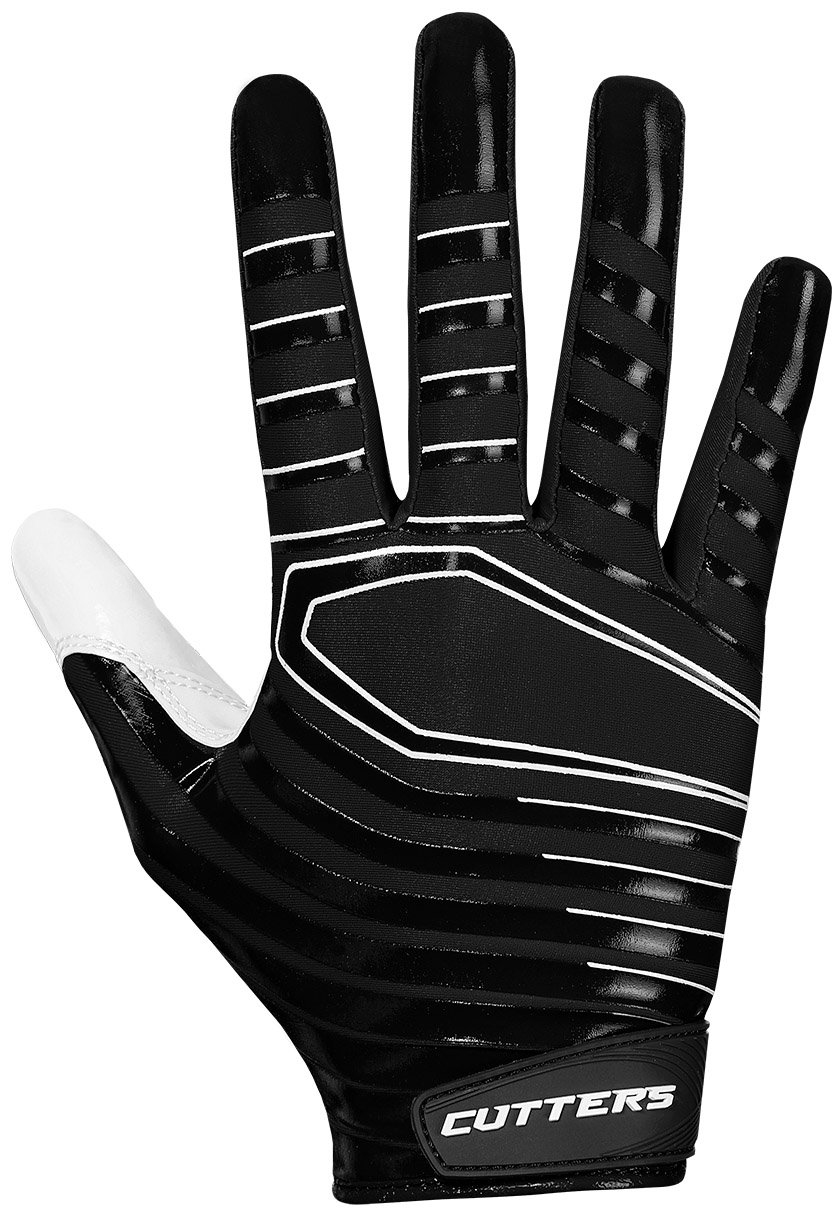 Cutters Gloves S252 Rev 3.0 Receiver Gloves, Black, Medium by Cutters (Image #1)