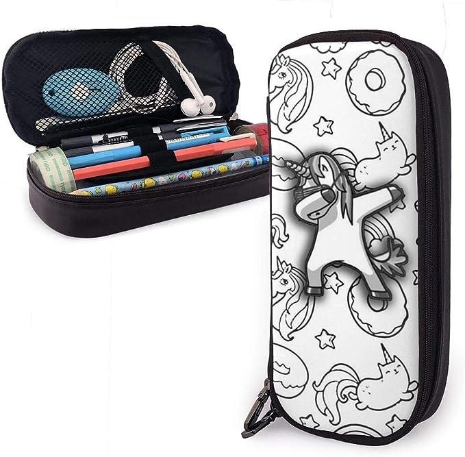 Coloring Pusheen Donuts and Unicorn - Estuche para lápices para niños y niñas: Amazon.es: Oficina y papelería