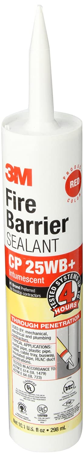 3M CP-25WB+/10.1 10.1 Oz. Fire Barrier Sealant (Pack of 1) 051115116384