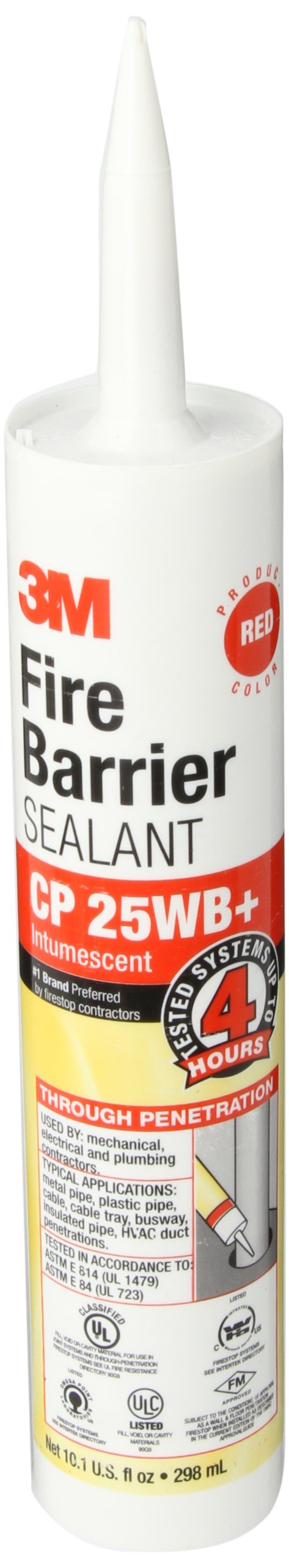 3M CP-25WB+/10.1 10.1 Oz. Fire Barrier Sealant (Pack of 1)