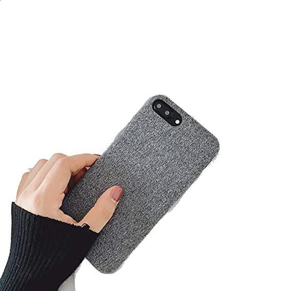 buy online ae444 eb562 Amazon.com: Fresh Cloth Phone Case for iPhone 6 6S 7 Plus 8 X Simple ...