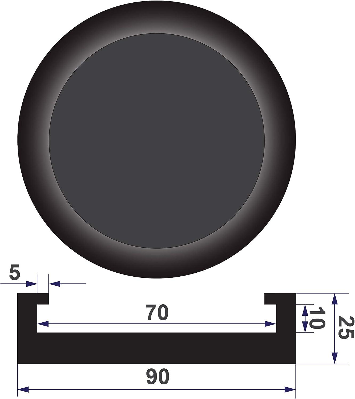 Stix Pad Tampone in Gomma per Cric e ponti di sollevamento 70x21mm