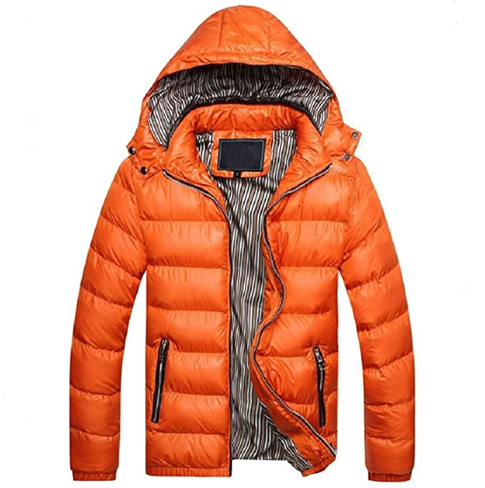 cant be satisfied Men Jacket Warm Coat Sportsoutdoor Outwear Winter Spring Parka Chaquetas Plumas Hombre at Amazon Mens Clothing store: