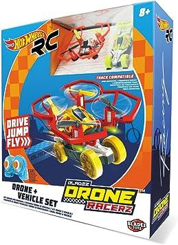 Opinión sobre Hot Wheels-63568 Coche y Dron, Color Rojo (63568)