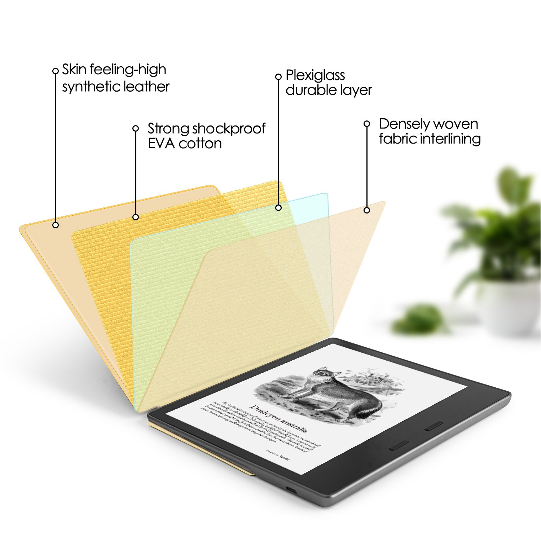 Ayotu Estuche para sensación de la Piel para Kindle Oasis (novena ...
