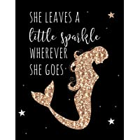 She Leaves a Little Sparkle Wherever She Goes: Weekly Planner 18-Month Mermaid    July 2018 - Dec 2019 Weekly View    To-Do Lists, Inspirational Quotes + Much More